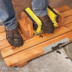 Mud-Busting Boot Scrape