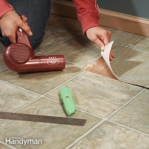 Repair Vinyl Flooring: Patch Damaged Flooring