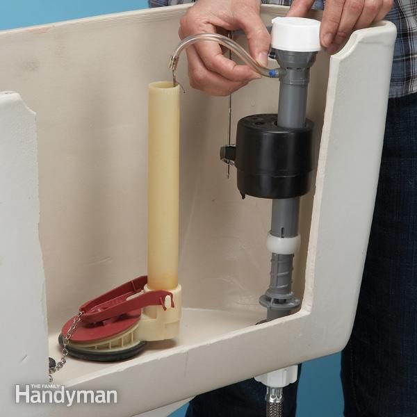 How To Stop A Running Toilet The Family Handyman