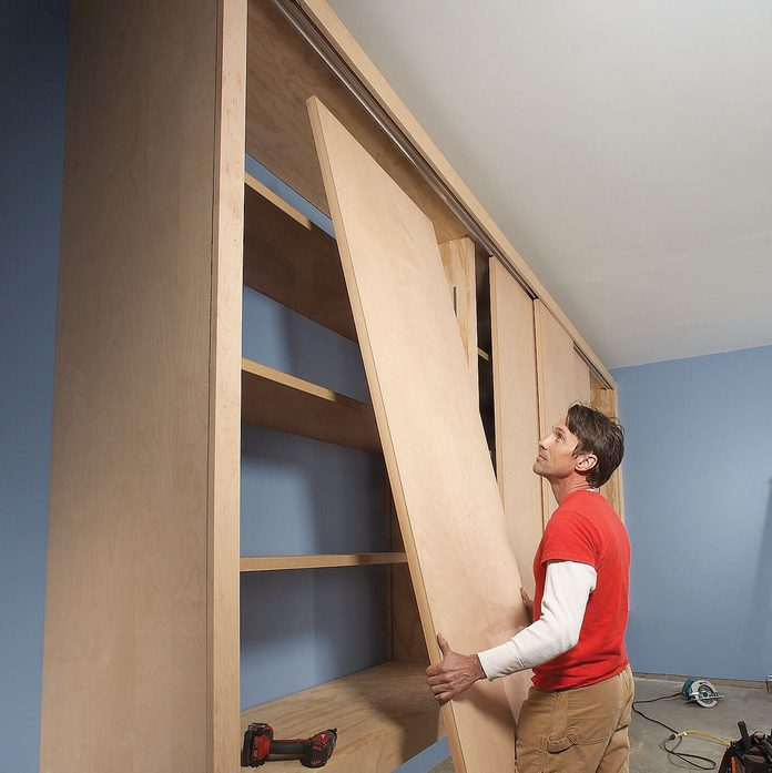 Giant Diy Garage Cabinet, Large Wall Storage Units With Doors