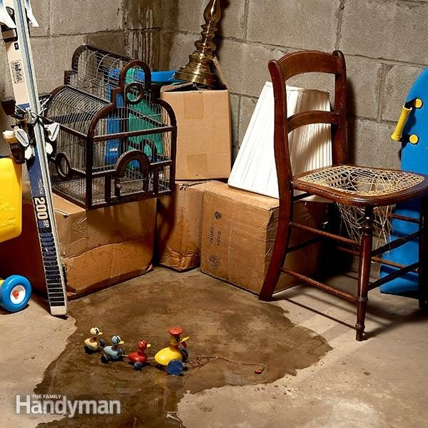 4 Steps To Fixing A Leaky Basement The Basic Solution Is Often Best