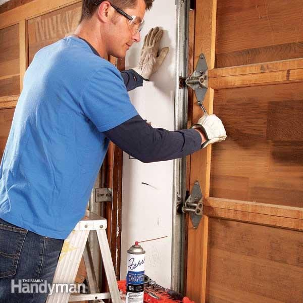 How to Fix a Noisy Garage Door