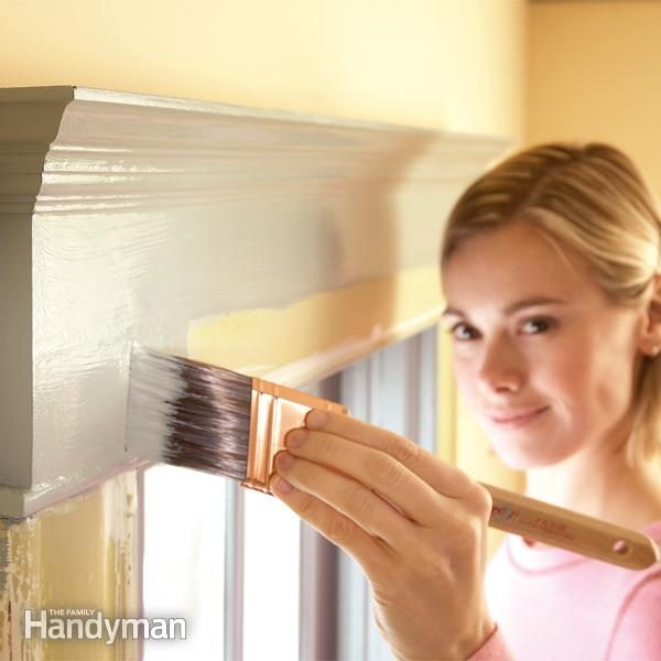 Trim painting tips family handyman - Exterior trim painting tips image ...