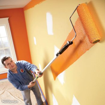 how to fix paint chips on wall