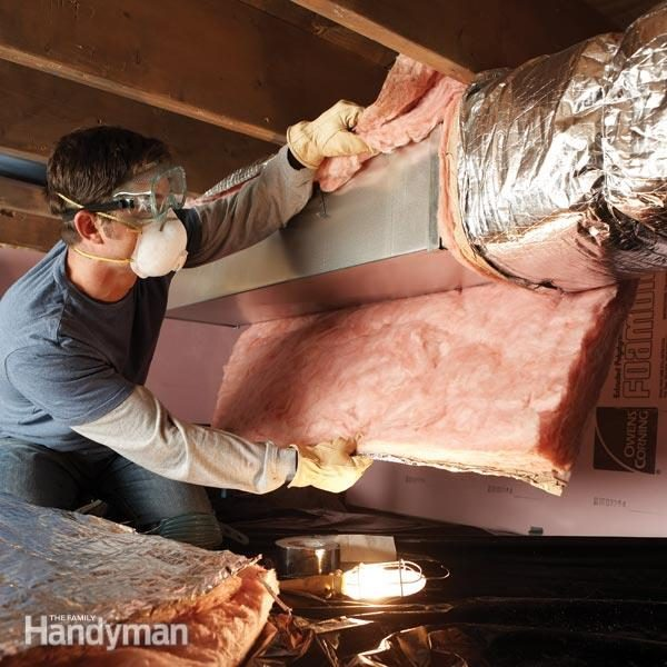 Save Money By Insulating Crawl Space Ducts The Family