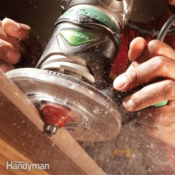 How To Get Perfect Routed Edges The Family Handyman