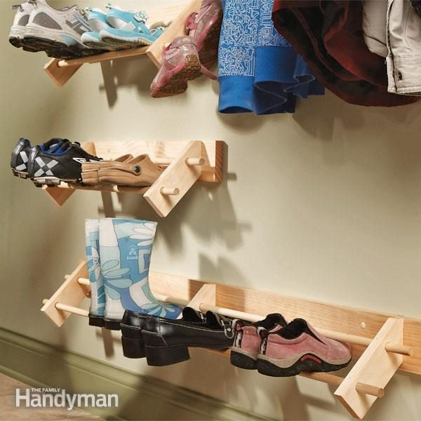 Build A Shoe Organizer Family Handyman