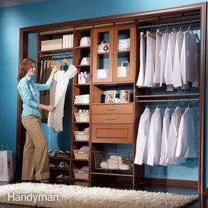Low Cost DIY Closet System