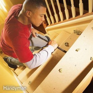 How to Repair Squeaky Stairs