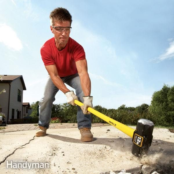 Concrete Demolition Tools And Tips Family Handyman