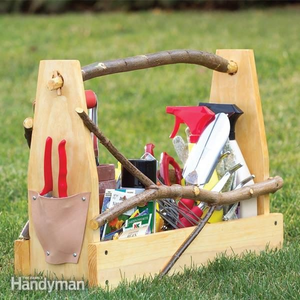 Store Garden Hand Tools Make A Handmade Toolbox The