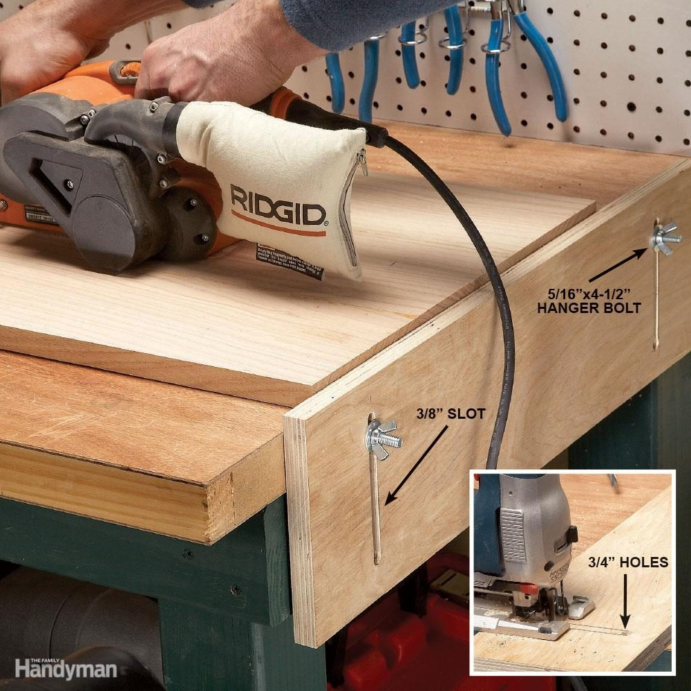 Super 10 Great Workbench Upgrades Family Handyman Frankydiablos Diy Chair Ideas Frankydiabloscom