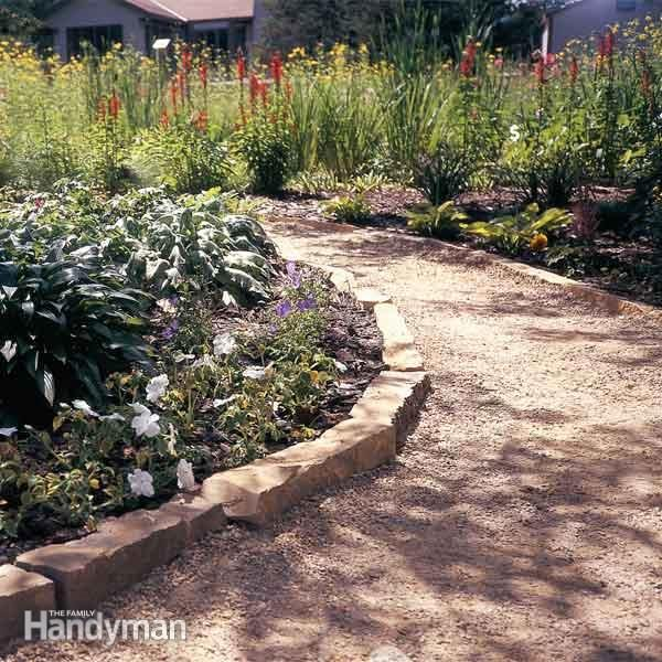 Garden Walkway Ideas railway sleepers as path Labor Intensive Formal Path Save Money And Time With One Of These Casual Paths Theyll Blend In Better And Will Look Like Theyve Been In Your Garden