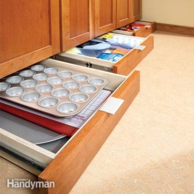 under cabinet storage drawer