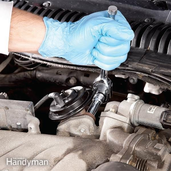 EGR Valve Cleaning Can Stop Stalling & Idling Problems | Family Handyman