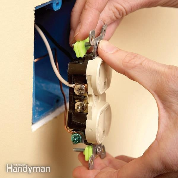 Repair Electrical Outlets Fix Loose Outlets Family Handyman