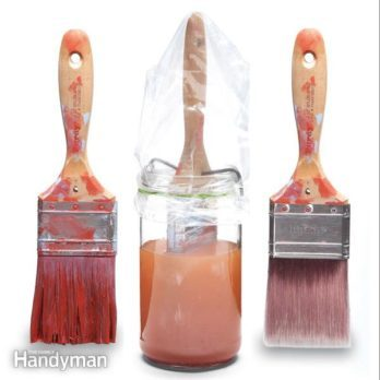 Paint Brush Care: How To Clean Dried Paint Brushes
