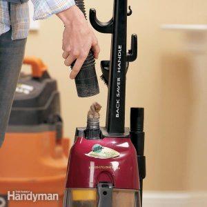 Vacuum Cleaner Repair: Clean Out Clogs