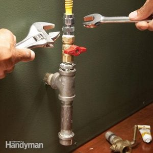 How to Connect Gas Pipe Lines
