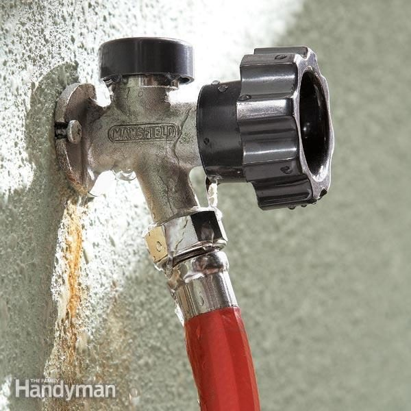Fix A Leaking Frost Proof Faucet Family Handyman