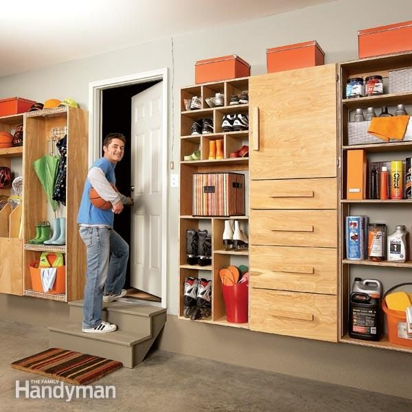 5 Quick And Cheap Garage Organizing Ideas Part - 33: Garage Storage: Backdoor Storage Center