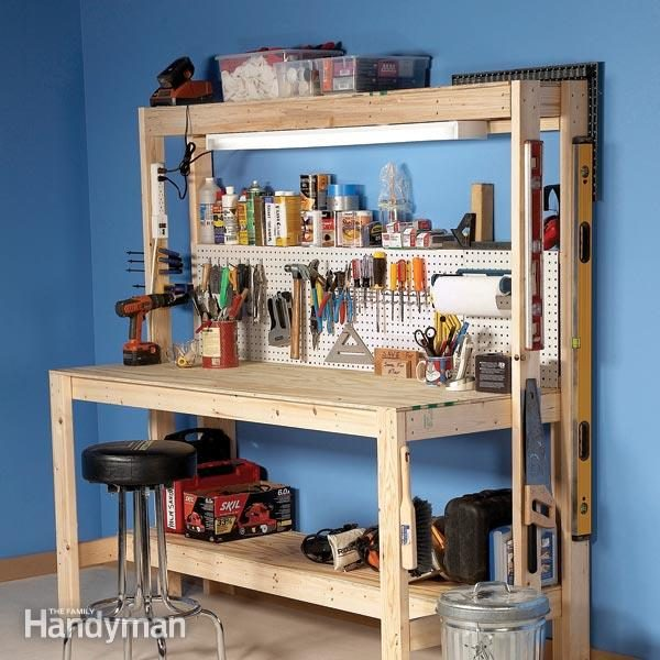 building a workbench workshop bench work bench garage workbench - How To Build A Garage Workbench