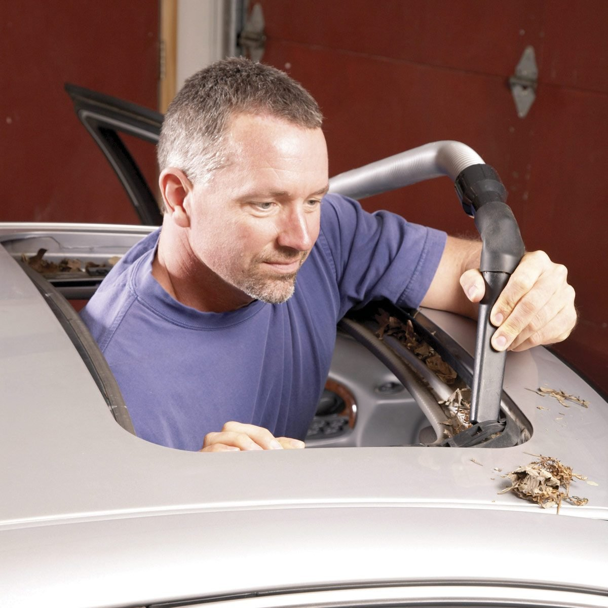 How To Fix A Leaking Sunroof Family Handyman The 2003 Camry Wiring Diagram Open Your And Look For Drain Holes In Both Front Corners Those Tubes Run Through Door Pillars Rocker Panels