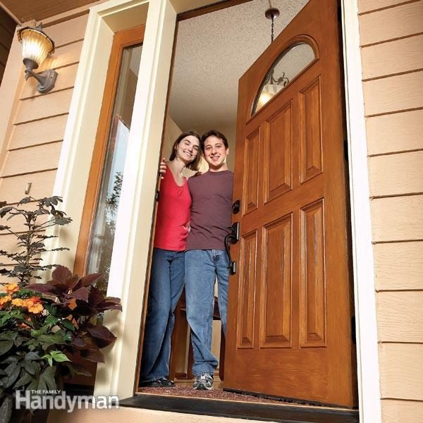 How To Install A Door Family Handyman