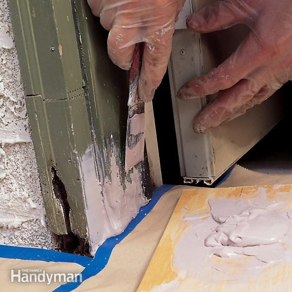 How to Repair Rotted Wood | The Family Handyman