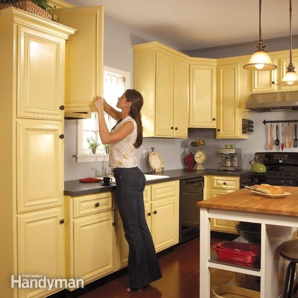 Latex Painting Laminate Kitchen Cabinets