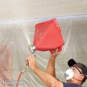 Textured Ceiling Repair Tips
