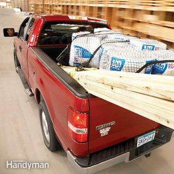 how to transport things in a pickup