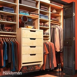 How To Build a DIY Closet Storage System