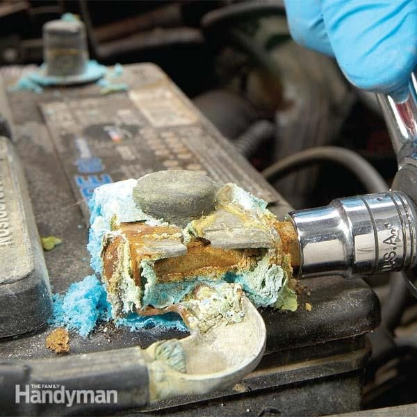How To Replace Battery Terminals Fix A Corroded Battery