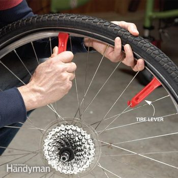 How to change a bike tire how to change a tire