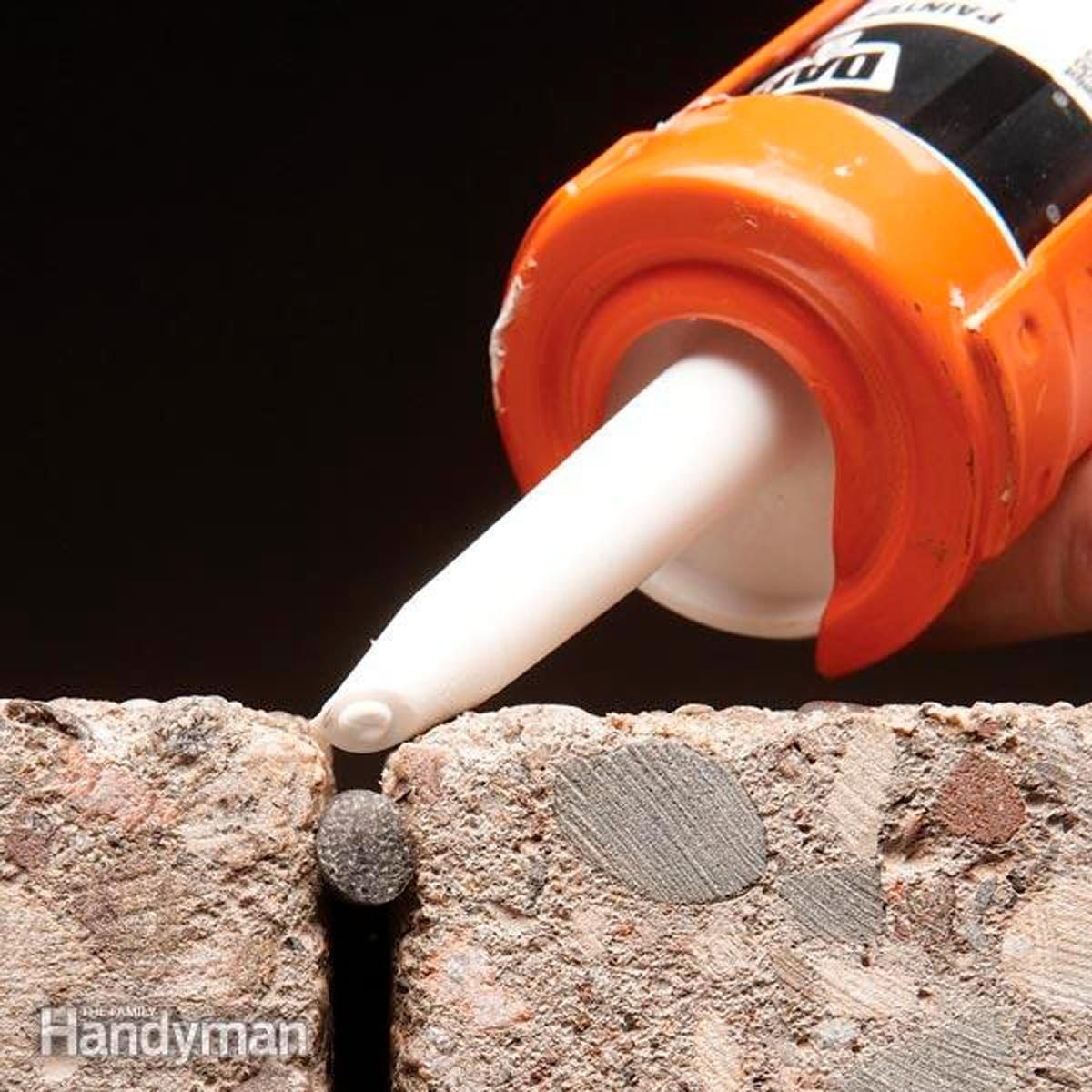 How To Caulk Concrete Family Handyman