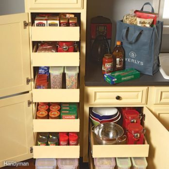7 Roll-Out Cabinet Drawers You Can Build Yourself