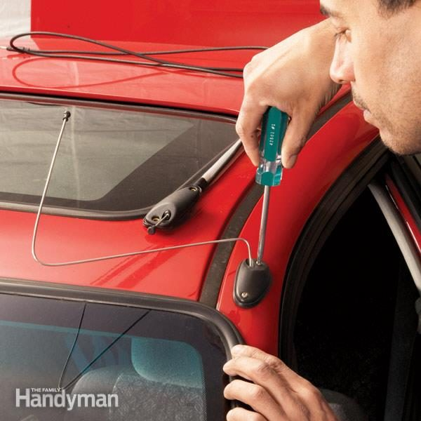 How To Replace A Car Antenna The Family Handyman