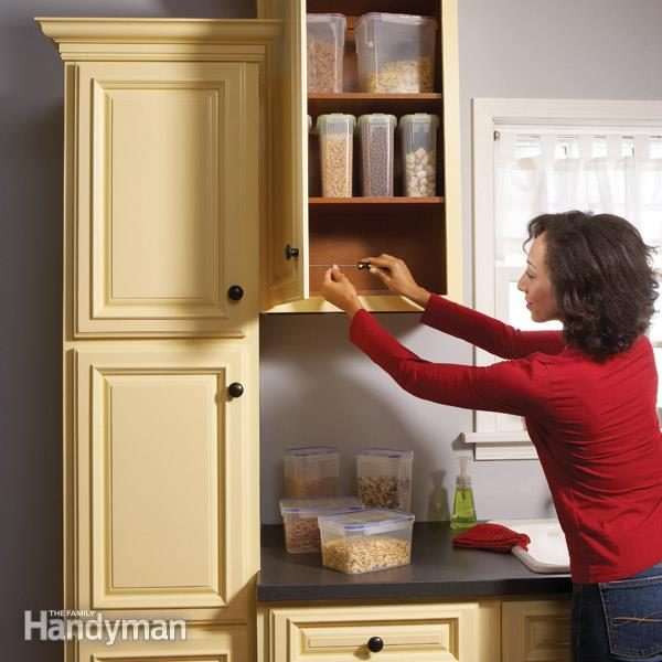 Home Repair: How to Fix Kitchen Cabinets | Family Handyman