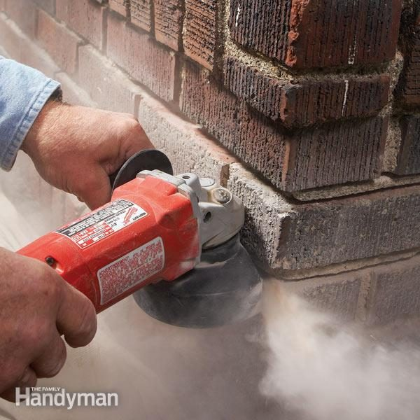 brick fireplace liner replacement chimney maintenance family handyman