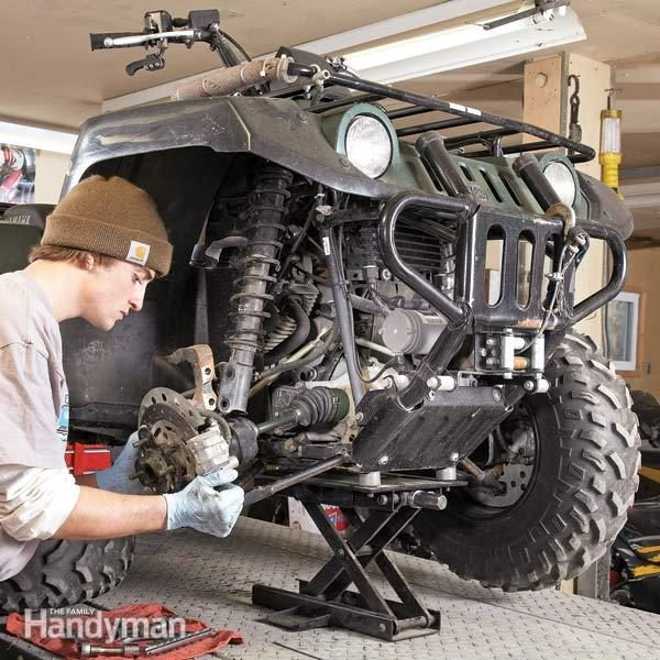 Top Atv And Motorcycle Repairs The Family Handyman