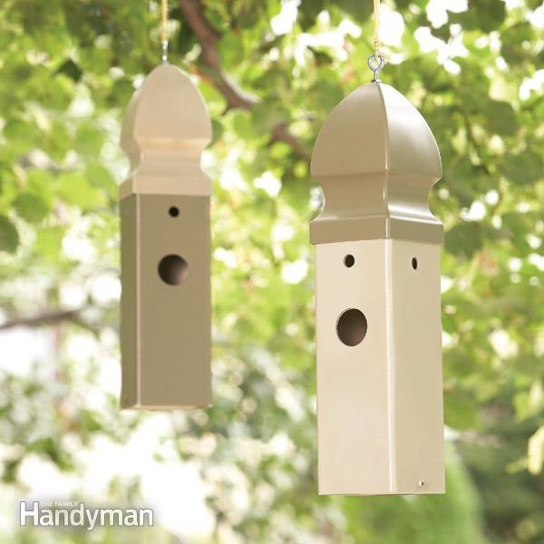 Bird house how to build a wren house family handyman for Diy bird house