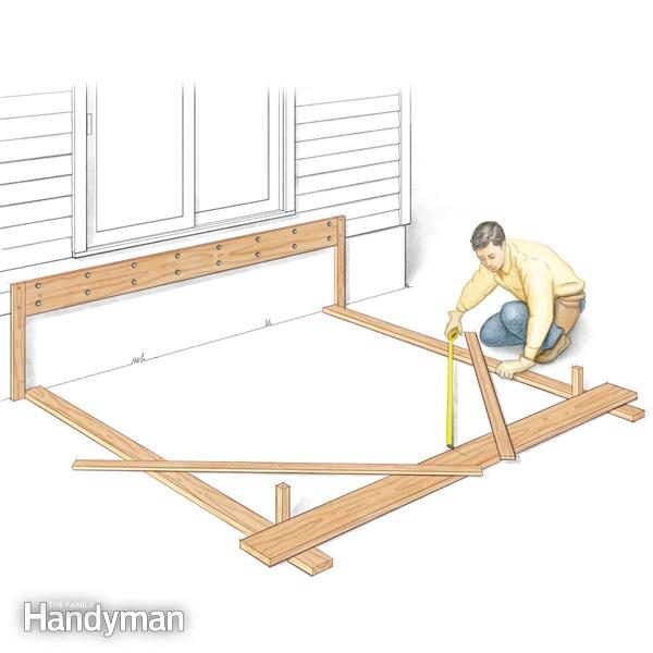 Tips For How To Build A Deck Family Handyman