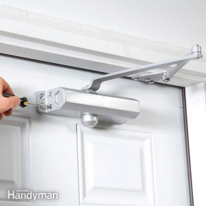 Install a Hydraulic Door Closer