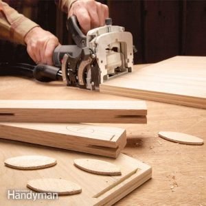 Building Cabinets With Biscuit Joints