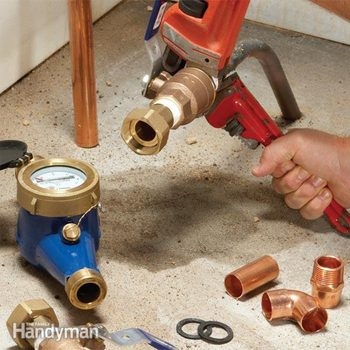 water line replacement