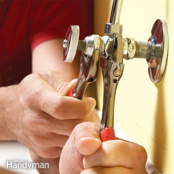 Fix a Leaky Shut Off Valve | Family Handyman