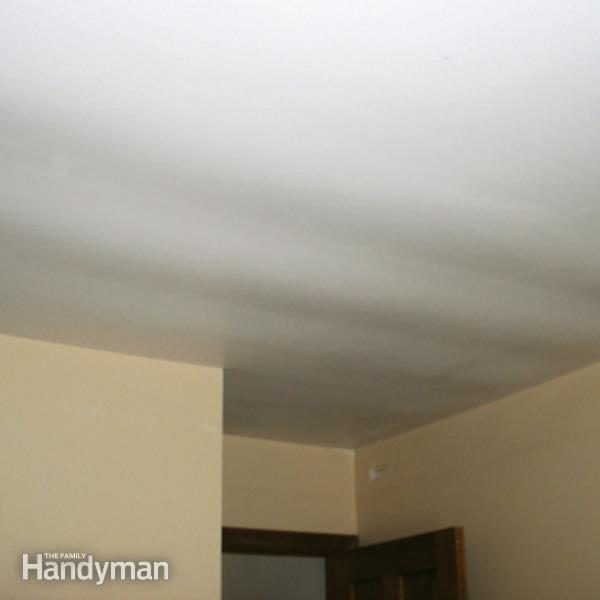 Ceiling Repair Fix A Sagging Ceiling The Family Handyman