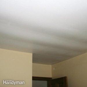 Ceiling Repair: Fix a Sagging Ceiling
