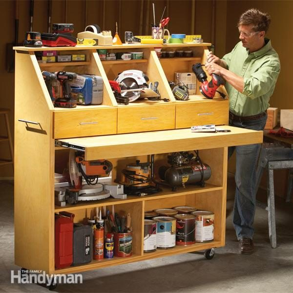 Grab and go tool storage family handyman for Furniture 7 days to die